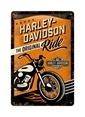 Nostalgic Art Harley Original Ride Duvar Panosu Renkli
